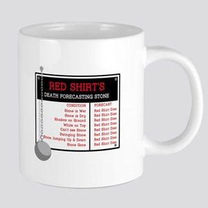Red Shirt's Death Forecasting Mugs