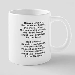 Heaven and Hell Mugs
