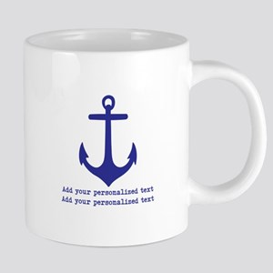 Nautical Anchor Mugs