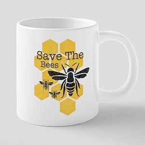 Honeycomb Save The Bees Mugs