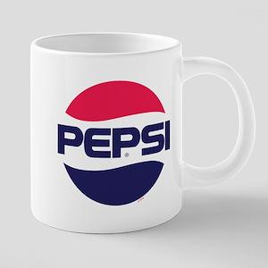 Pepsi 90s Logo 20 oz Ceramic Mega Mug