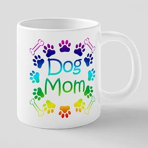 DogMom1 20 oz Ceramic Mega Mug