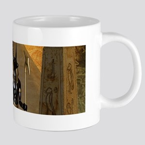 Anubis the egyptian god Mugs