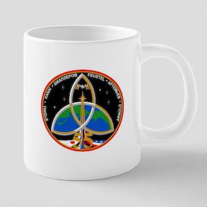 Expedition 55 Logo 20 oz Ceramic Mega Mug