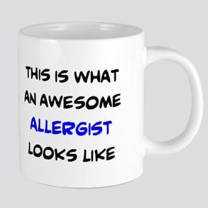 awesome allergist 20 oz Ceramic Mega Mug