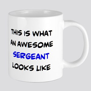 awesome sergeant4 20 oz Ceramic Mega Mug