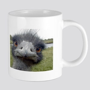 Peek-A-Boo Ostrich Coffee Mugs