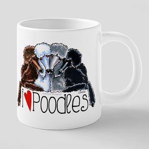 Love Poodles Mugs