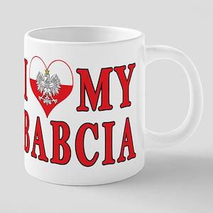 I Heart My Babcia Mugs