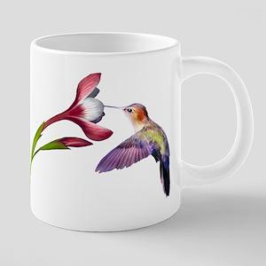 Hummingbird in flight Mugs