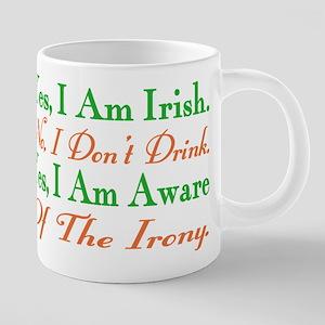 Ironic Sober Irish Mugs
