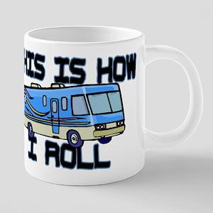 How I Roll RV Mugs