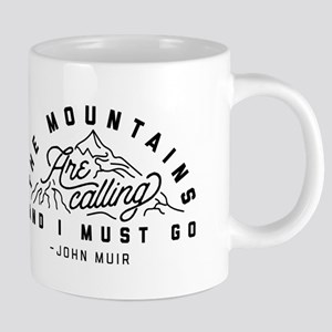 The Mountains Are Calling A 20 oz Ceramic Mega Mug