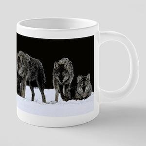 Dark Wolves Mugs
