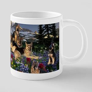 German Shepherd Country Mugs