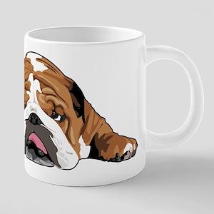 Teddy the English Bulldog Mugs