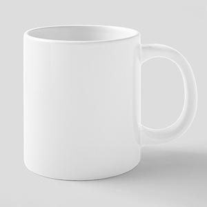 Hot Beverage Prescription 20 oz Ceramic Mega Mug