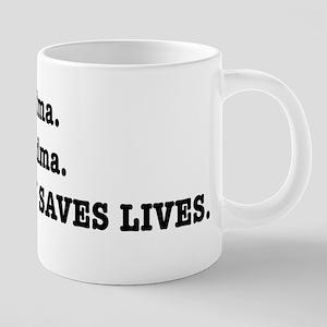 Punctuation Saves Lives Mugs