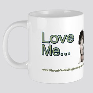 chinese crested 20 oz Ceramic Mega Mug