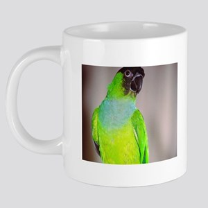 (7)Nanday Conure 20 oz Ceramic Mega Mug