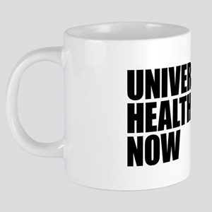 Universal Health Care Now 20 oz Ceramic Mega Mug