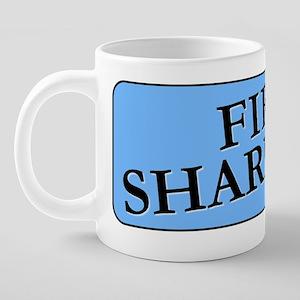 FIRESHARPTON 20 oz Ceramic Mega Mug