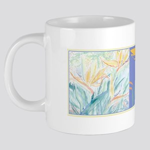 Bird of Paridise  South Afr 20 oz Ceramic Mega Mug