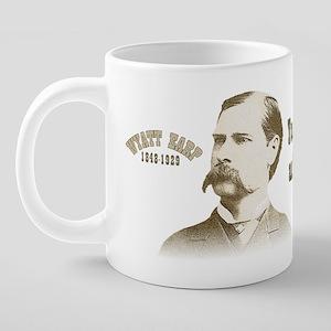 Wyatt1 Mugs 20 oz Ceramic Mega Mug