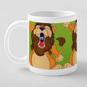 Sleepy Lion Mug 20 oz Ceramic Mega Mug