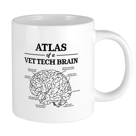 Atlas of a Vet Tech Brain