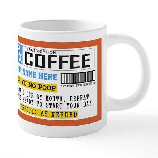 Personalize Prescription Coffee