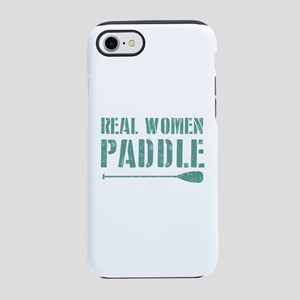 Real Women Paddle iPhone 7 Tough Case