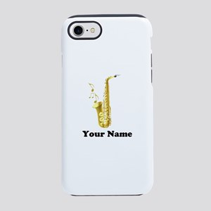 Saxophone Personalized iPhone 7 Tough Case
