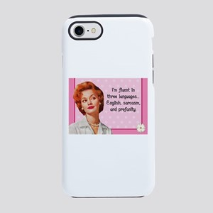 English Sarcasm Profanity iPhone 8/7 Tough Case