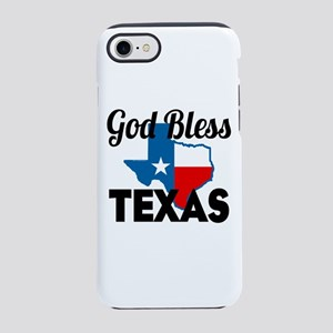 God Bless Texas Iphone 7 Tough Case