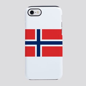 Flag of Norway iPhone 8/7 Tough Case