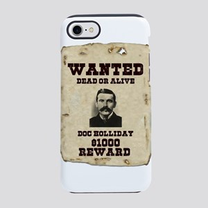 Doc Holliday Wanted Poster iPhone 8/7 Tough Case