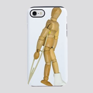 UsingCrutches031910 iPhone 7 Tough Case
