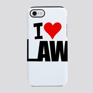 I Love Law iPhone 8/7 Tough Case