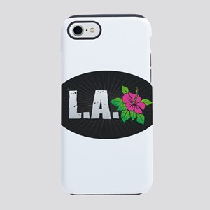 L.A. Hibiscus iPhone 7 Tough Case
