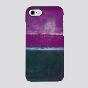 ROTHKO PURPLE GREEN LIGHT BLUE iPhone 8/7 Tough Ca