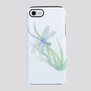 Watercolor Dragonfly paintin iPhone 8/7 Tough Case
