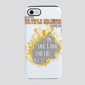 Multiple sclerosis awareness iPhone 7 Tough Case