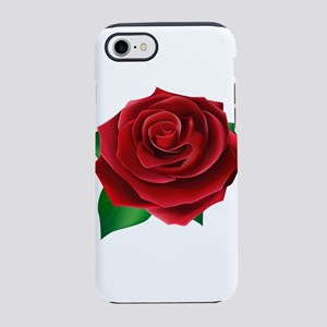 Red Rose iPhone 7 Tough Case