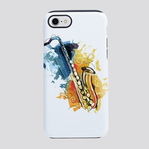 Saxophone Painting iPhone 8/7 Tough Case