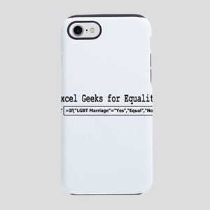 Excel Geeks for Equality iPhone 7 Tough Case