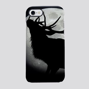 elk silhouette iPhone 8/7 Tough Case