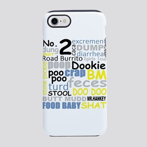 FUNNY BATHROOM/ PLUMBER POO iPhone 7 Tough Case