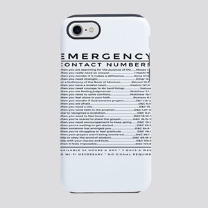 bible emergency number iPhone 7 Tough Case