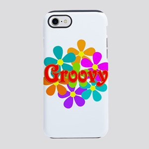 Fun Groovy Flowers iPhone 8/7 Tough Case